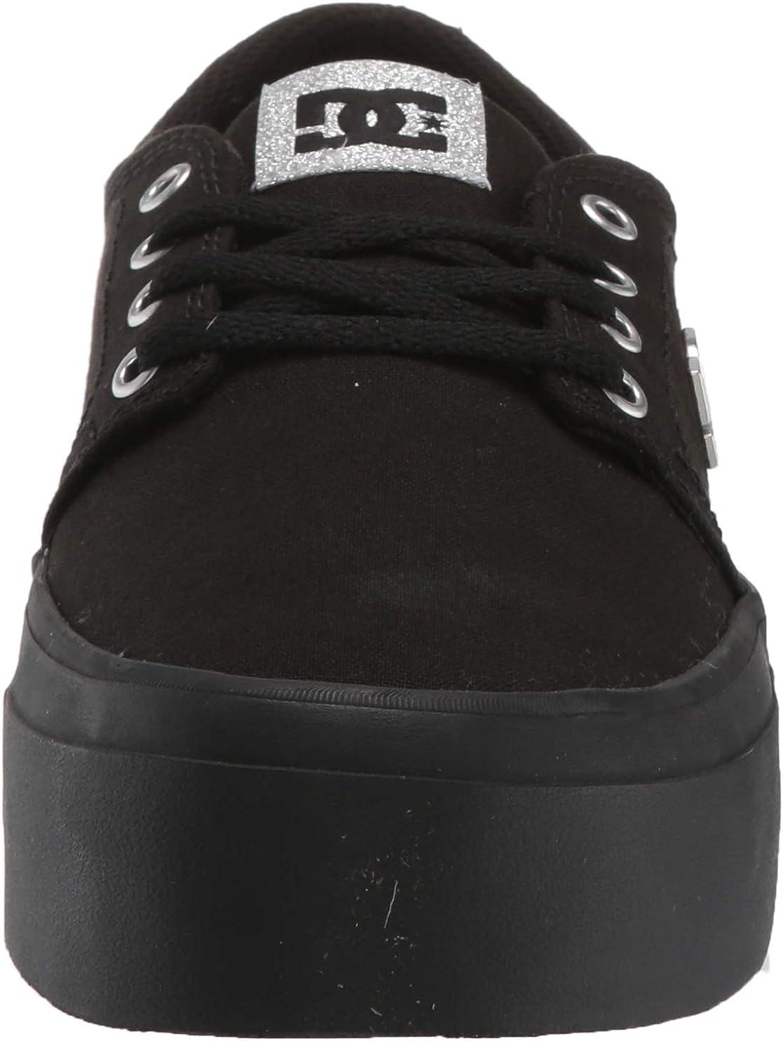DC Womens Trase Platform TX SE Skate Shoe