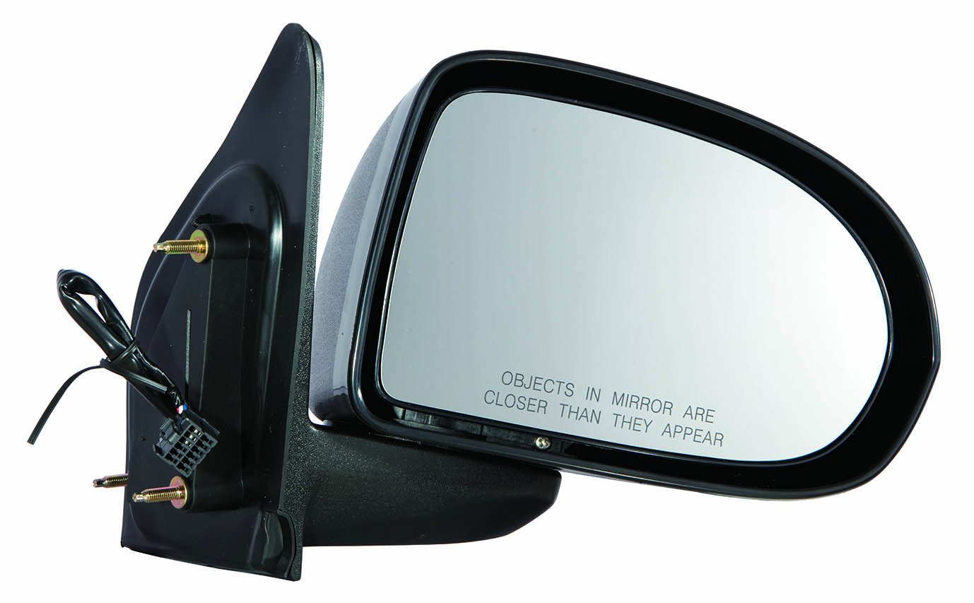 07-10 Textured Depo 333-5414L3EF Jeep Compass Driver Side Power Non-Heated Mirror