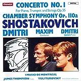 Shostakovich: Concerto No. 1, Op. 35/Chamber Symphony Op. 110a