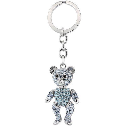 Amazon.com: Muebles oso cadena de clave, llavero, llavero ...