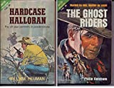img - for Hardcase Halloran/ The Ghost Riders (Vintage Ace Double F-254) book / textbook / text book
