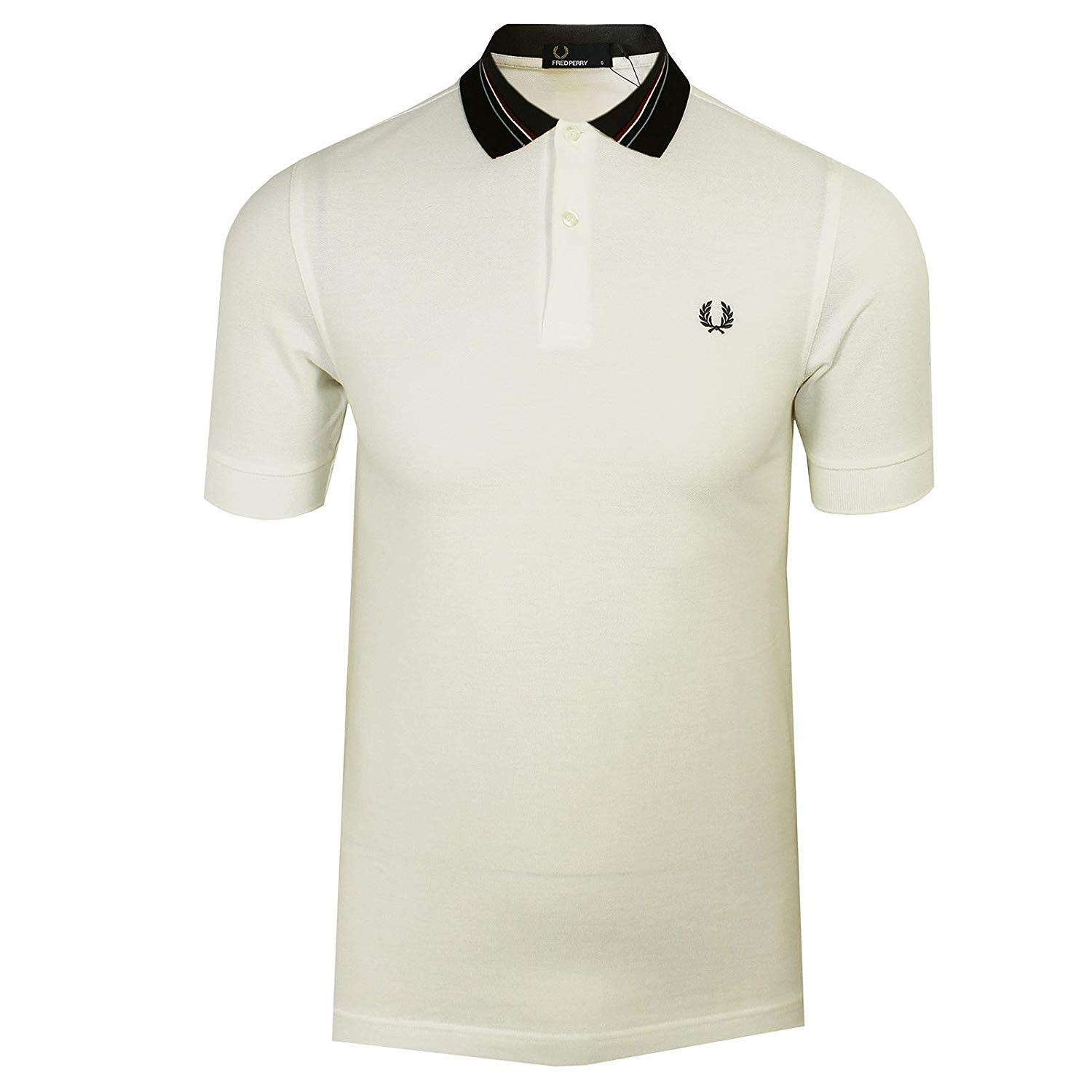 Fred Perry Stripe Collar Pique Shirt, Polo: Amazon.es: Ropa y ...