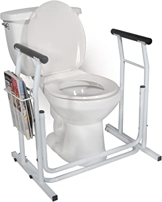 MedMobile Stand Alone Toilet Safety Rail