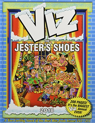 Viz Annual 2018: The Jester's Shoes