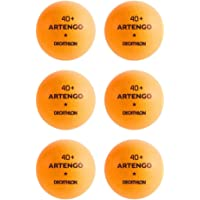 Artengo 40+ pelotas de tenis de mesa–paquete de 6