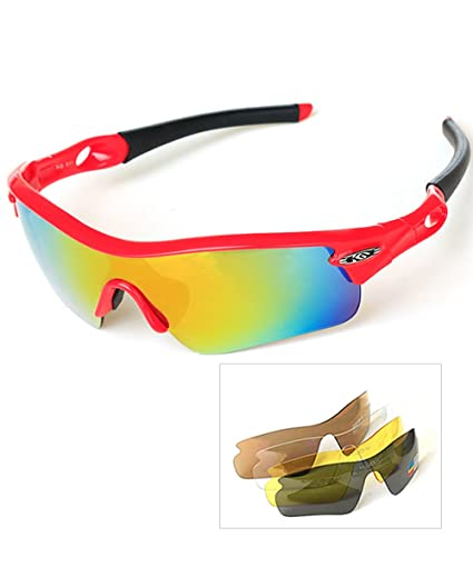 82d7d813b03 Amazon.com  HALORI Sports Sunglasses Polarized for Men and Women