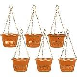 Khoji Orchid Hanging Pots - Set of 6