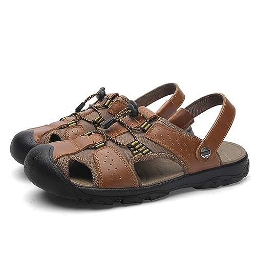 Sandalen Herren Sommer Trekking Romische Camper Leder