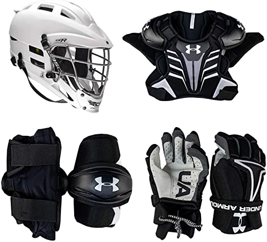 Under Armour Strategy Youth Lacrosse Starter Set 4-Piece - Best For Performance