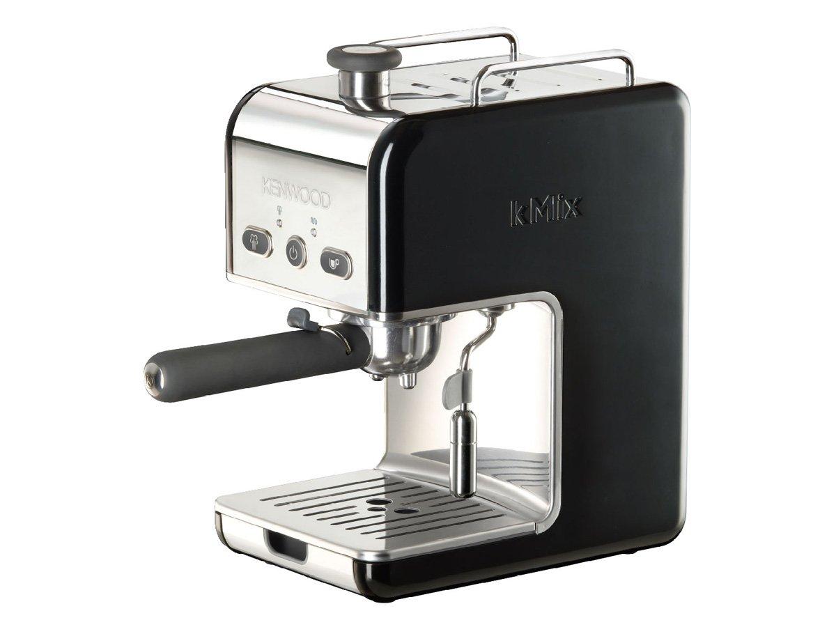 Kenwood ES 024 kMix - Máquina de café espresso con portafiltros, 1100 W, 15 bares, color negro: Amazon.es: Hogar