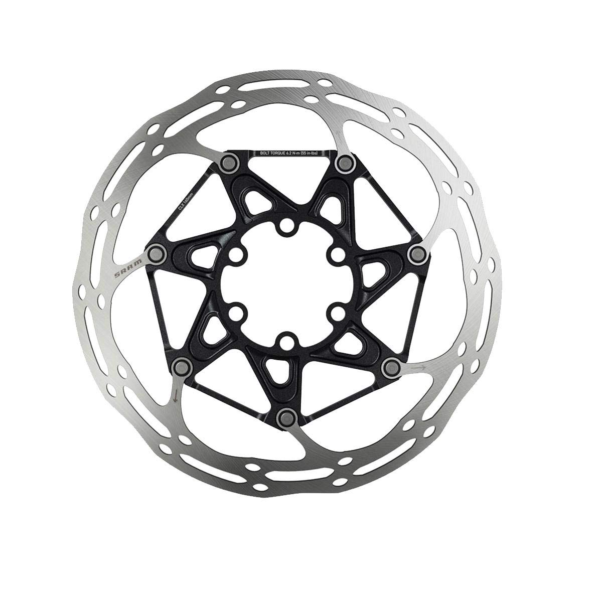 SRAM Centerline X Rounded Rotor Silver, 140mm