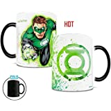 Morphing Mugs DC Comics Justice League (Green Lantern) Ceramic Mug, Black