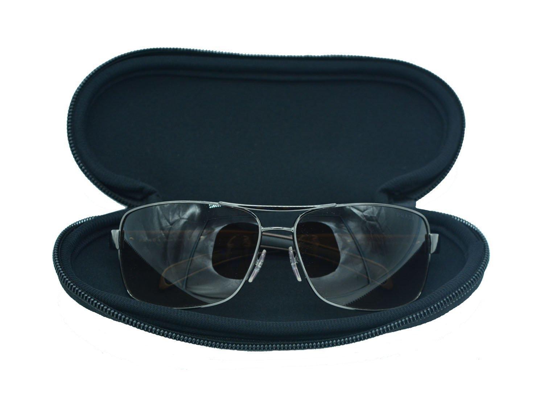 Wommty Portátil Cremallera Suave Neopreno Seguridad Protector Contra el Polvo Caso Fundas para Gafas de Sol, Gafas de Natación y Gafas Wommty EU