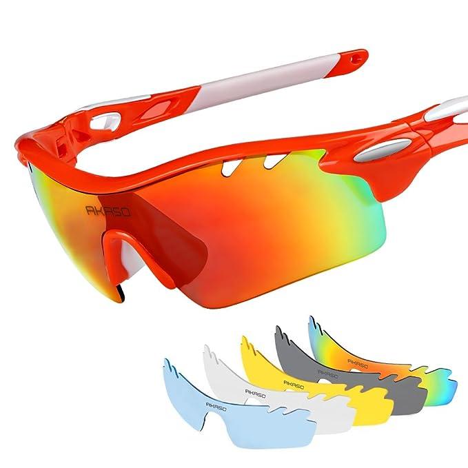 Amazon.com: AKASO - Gafas de sol para hombre con efecto ...