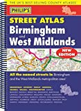 Philip's Street Atlas Birmingham and West Midlands: Spiral Edition (Philip's Street Atlases)