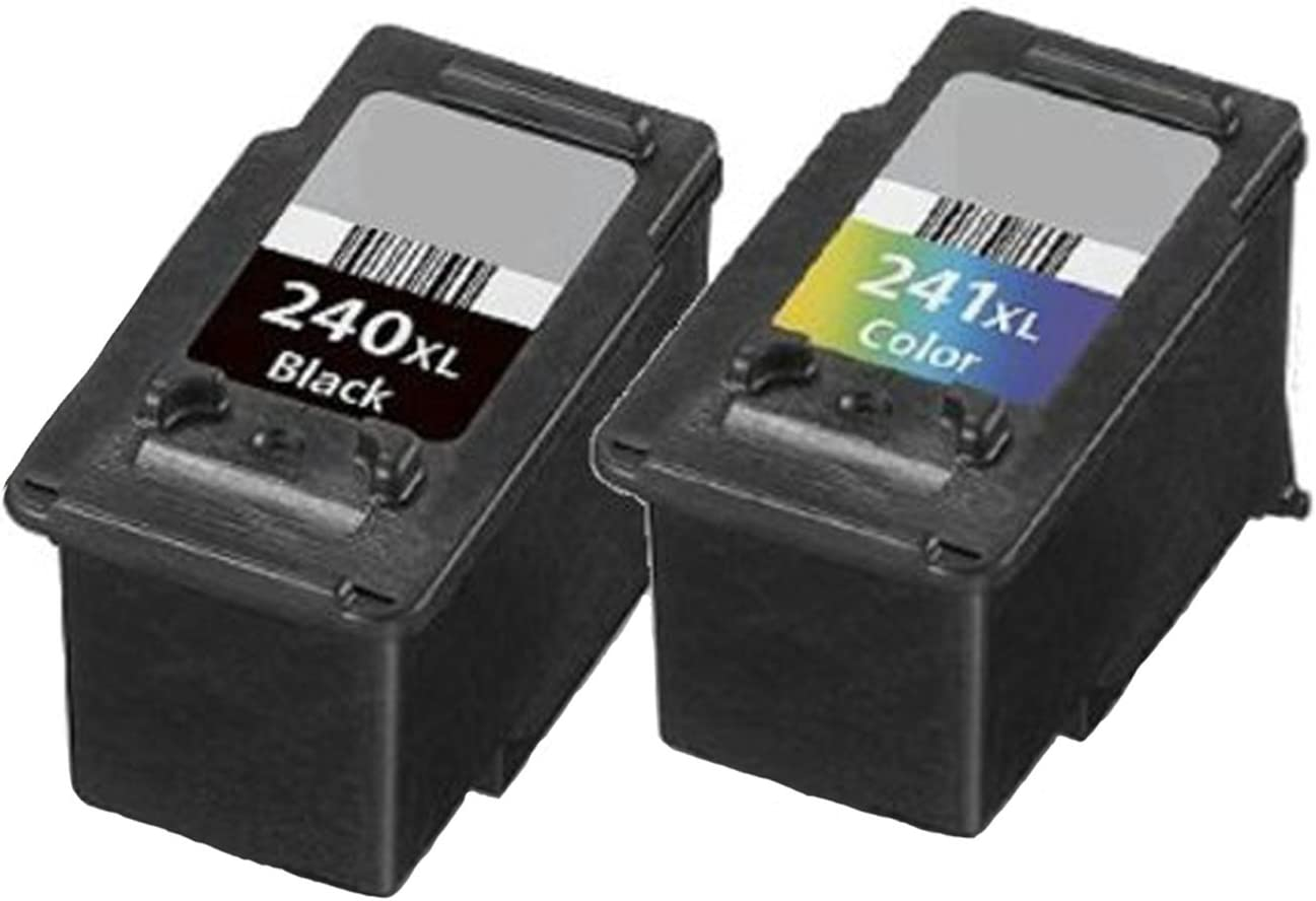 2 PK PG 240XL CL 241XL Ink Cartridge for Canon PIXMA MG and MX Series Printers