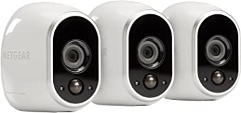 3-Pack Netgear Arlo Smart Home Wireless Security System