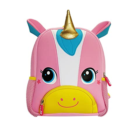 bb09fa73c NOHOO 3D Unicorn Toddler Sidekick Bags Animal World Cute Kindergarten  Backpack