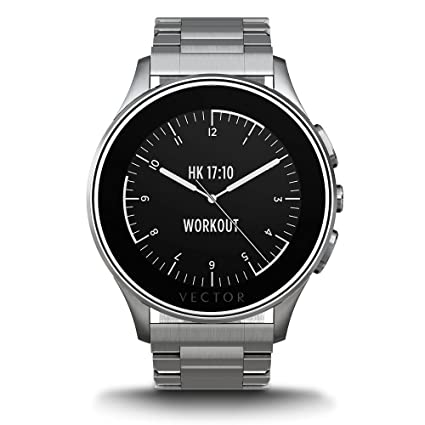 amazon com vector watch luna smartwatch 30 day autonomy 5atm rh amazon com vector watch manual vector watch windows
