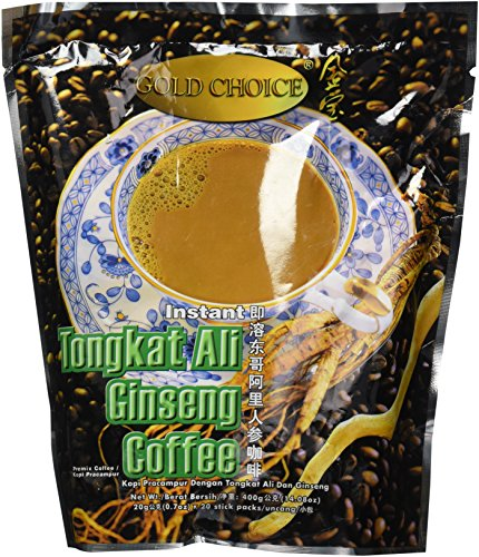 - Gold Choice Instant Tongkat Ali Ginseng Coffee