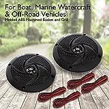 Pyle Marine Speakers - 5.25 Inch 2 Way Waterproof