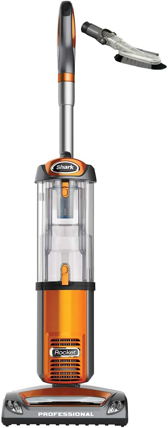 Shark NV484 Rocket Professional Upright Swivel Bagless Vacuum Cleaner with Attachments Certified Refurbished Orange