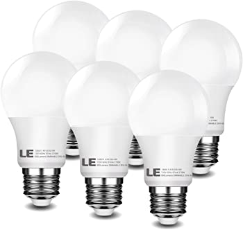 Lighting EVER LE A19 Dimmable 10W LED Bulbs