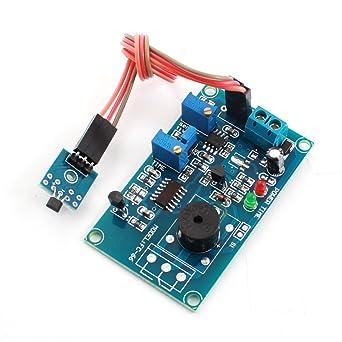 DC5V 20S sensor magnético de efecto Hall Módulo Detector de alarma Tiempo de retardo