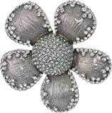 Marc Jacobs Women's Pave Petal Daisy Brooch White One Size