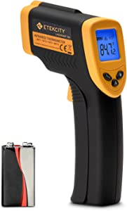 Etekcity Lasergrip 749 Digital Infrared thermometer, Standard Size, Black/Yellow