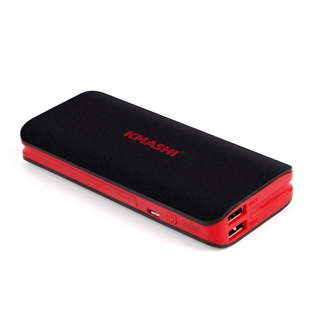 KMASHI Batería Externa mAh Portátil Cargador Movil Power Bank para iPhone X