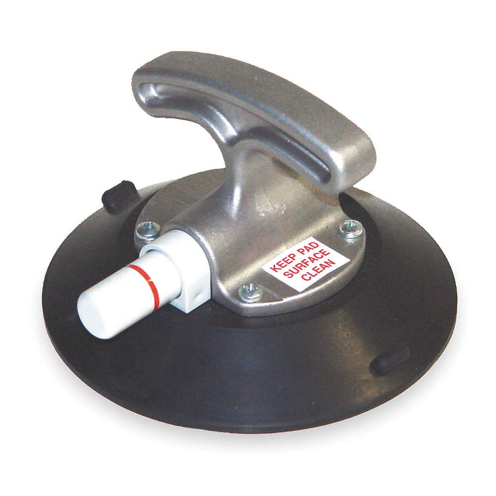 Suction Cup Lifter, 6 in Dia, T-Handle Mfr. Model # TL6HG