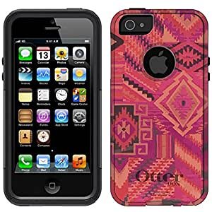 Otterbox Commuter Aztec Pink Tribal Pattern Case for iPhone 5