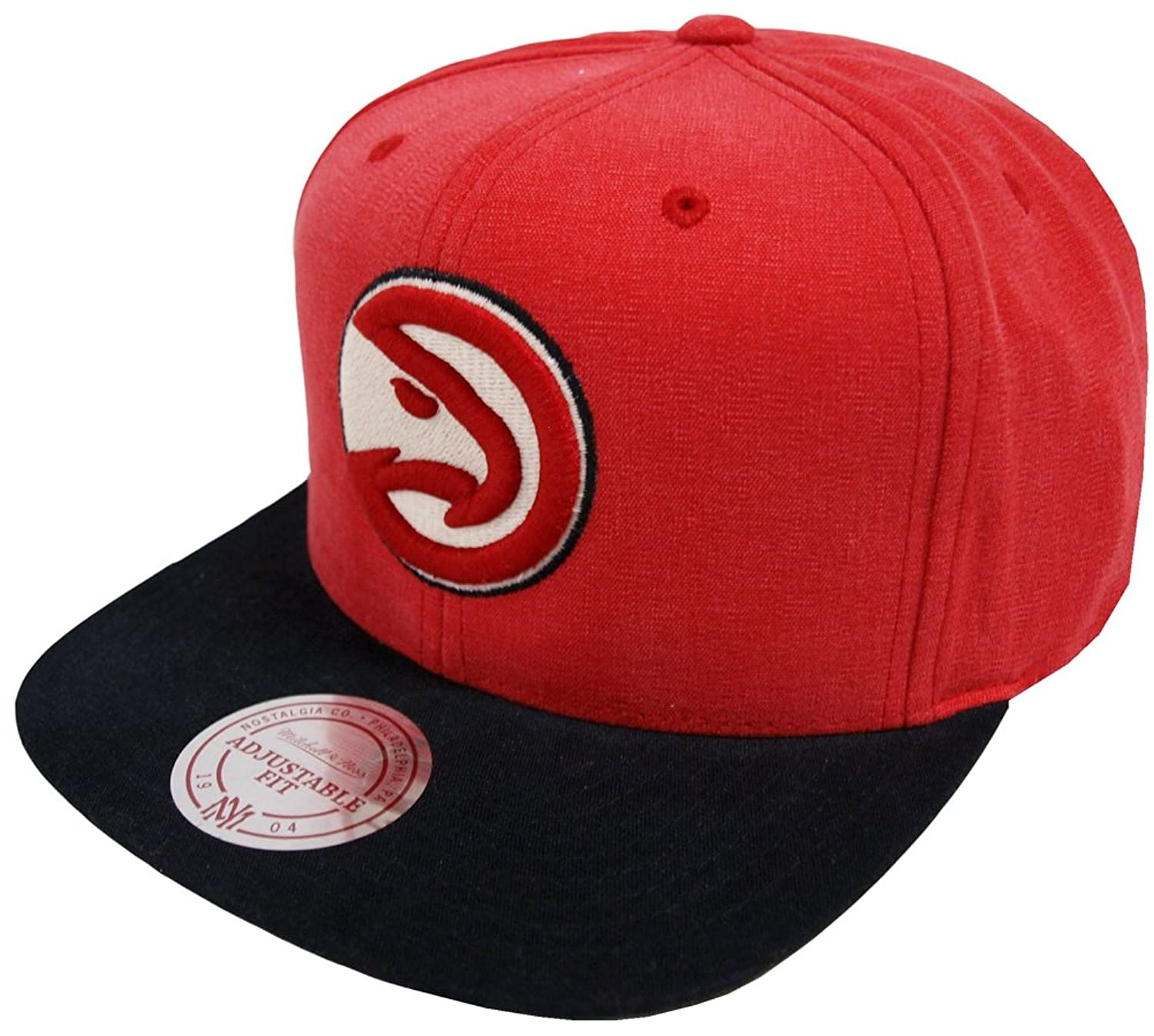 buy popular 86410 1ff83 De bajo costo Mitchell   Ness Atlanta Hawks VV16Z Sandy Off White Snapback  Cap Basecap NBA