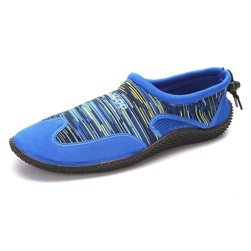 ROWOO Water Shoes for Men Quick-Dry Women Barefoot Aqua Shoes for Swimming Surfing Pool Shoes (6 US Men/8 US Women/39 EU, Blue)