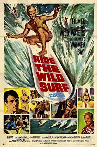 Ride The Wild Surf - Movie Poster - 11 x 17