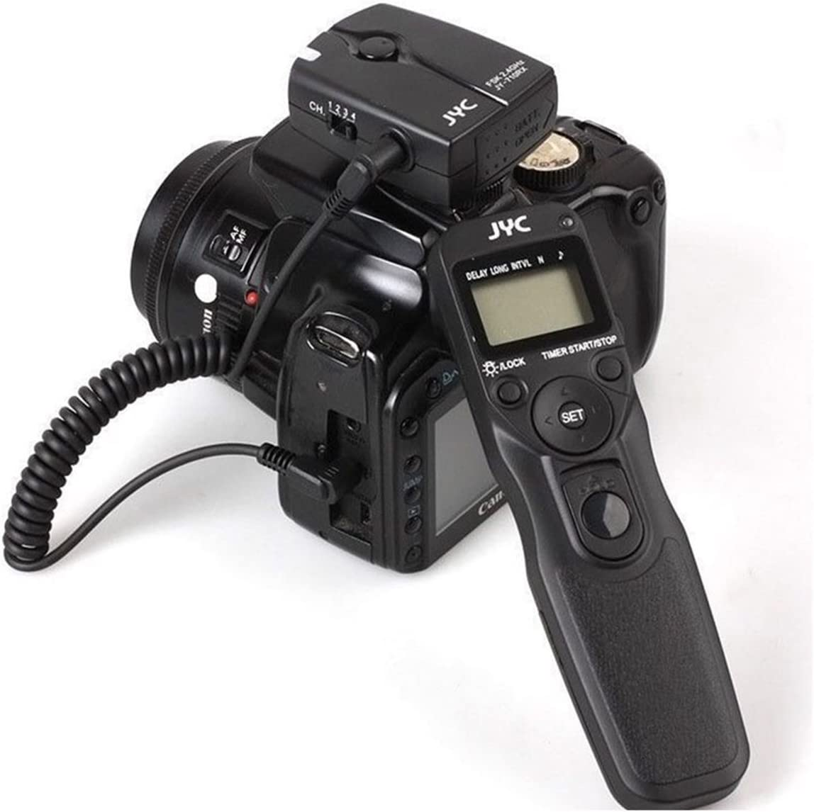 7D C3 Cable,for Canon 6D 5D II MC-C3 5DS R 7D 5D III 5DS RS-80N3 LCD delay Spacer with Remote Control