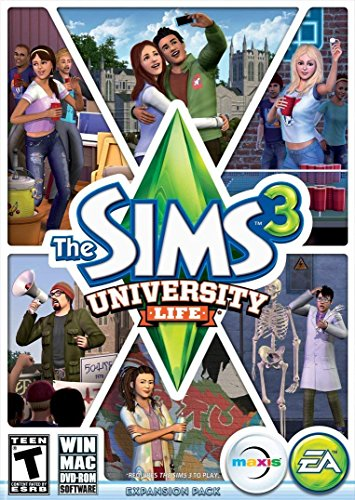 The Sims 3: University Life (PC DVD) (Best Universities For Student Life)