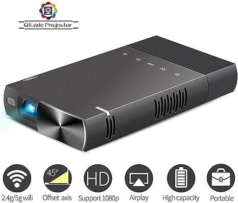 Mini Proyector DLP 1080p Compatible con Proyector Portátil TV ...