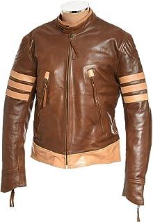 Logan Lobezno chaqueta de piel auténtica