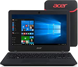 Acer TravelMate TMB115 11.6-Inch Touchscreen Laptop (4GB RAM, 500GB HDD, Intel Celeron N2940) (Renewed)