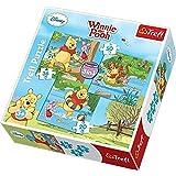 Disney, Winnie the Pooh, 3-in-1 Puzzle/Jigsaws by Trefl 20,36,50 elements