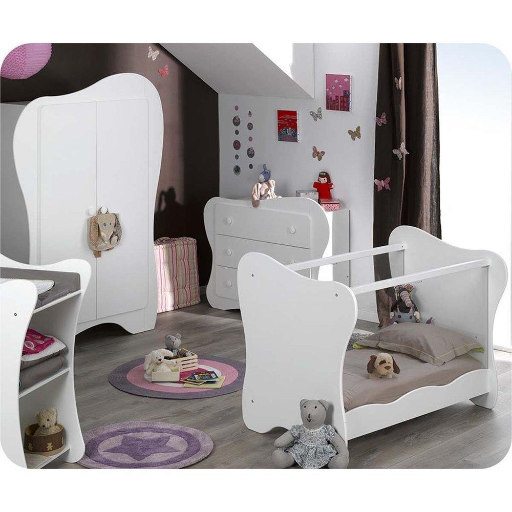 Babyzimmer komplett Iris weiß
