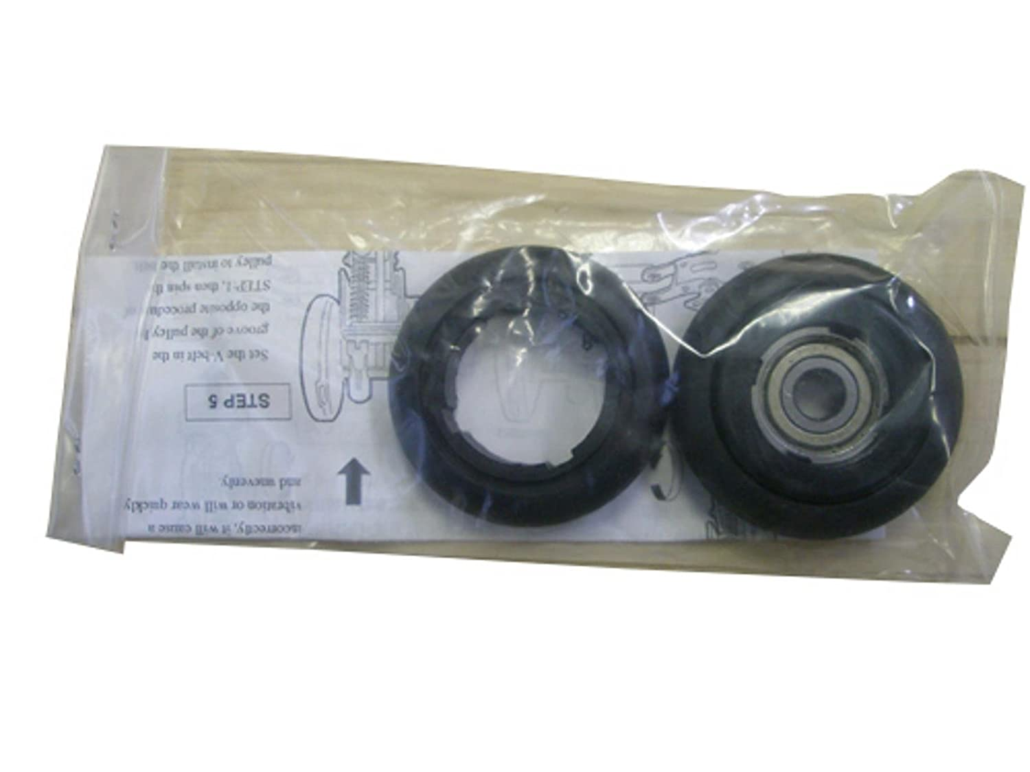 Minoura Replacement Rubber Rollers for RDA Trainers (Pair) Cycle Force Group 400-1259-00