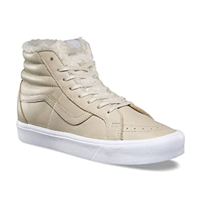 68f64b536d Vans SK8 Hi Lite Reissue Sherpa Cement True White Men s Shoes Size 10