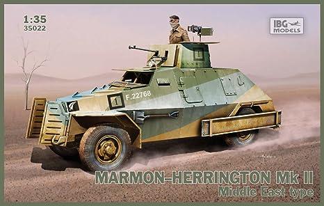 Amazoncom IBG MODELS MarmonHerrington MkII Middle East Type