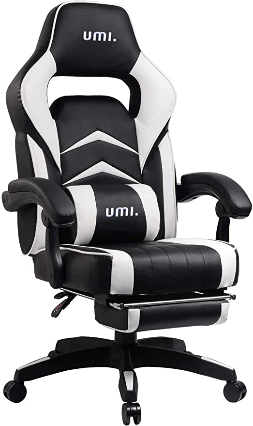 Outstanding Umi By Amazon Gaming Chair Office Desk With Footrest Computer Chairs Ergonomic Conference Executive Manager Work Chair Pu Leather High Back Forskolin Free Trial Chair Design Images Forskolin Free Trialorg