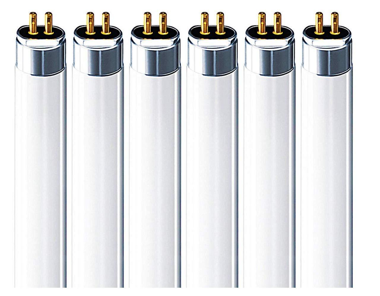 (6 Pack) Sylvania 20197 - FP54/835/HO/XL/ECO 54 Watt T5 HO High Output Fluorescent Tube Light 54W F54T5-3500K Replaces F54T5/HO F54T5/HO/835 F54W/T5/835/ECO FP54/835/HO/ECO F54T5/835/HO/ALTO
