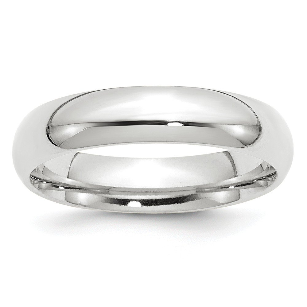 10KW 5mm Standard Comfort Fit Band Size 6 by JewelrySuperMart Collection
