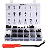 Car Retainer Clips & Plastic Fasteners Kit Auto Fastener Clips with Clips Removal Tool 415PCS 18 Sizes Car Push Pin…